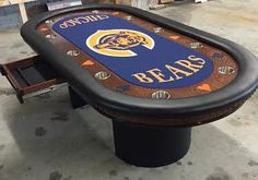 Chicago Bears Custom Poker Table