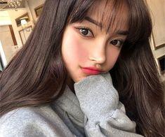 Imagem de fashion, girl, and hair Korean Natural Makeup, Korean Makeup, Natural Beauty, Korean Skincare, Girl Inspiration, Makeup Inspiration, Korean Girl, Asian Girl, Celebrity Makeup Looks