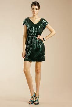 Trina Turk Womens Miley 2 Square Neck Bell Sleeve Dress