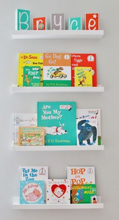 Project Nursery - Baby Name blocks