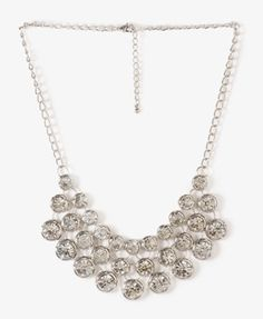 Graduated Rhinestone Chain Necklace $12.80 (Forever 21)