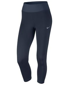 84c310f3a610a Nike Power Essential Cropped Running Leggings Women - Pants   Capris -  Macy s