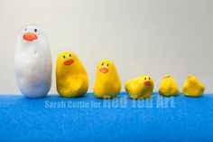 """5 Little Ducks Craft - we adore counting and sorting by size or just playing with our """"5 litle ducks stones"""". They are super easy to make, wonderfully tactile and 3 years on we still love them as much as ever!"""