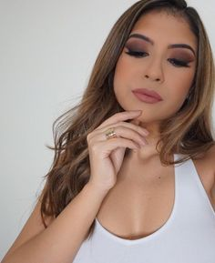 All Matte Smokey Eye Makeup Kylie Cosmetics Candy K Lip kit See this Instagram photo by @frankieandteff •