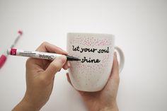 Inspirational Sharpie Mugs to Help Brighten Your Day