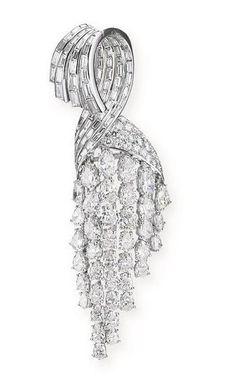 diamond brooch 1950S - Sothebys