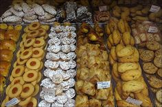 Venice, Italy - Zaletti (with almonds), Alle Mele (which means with apples), Tortina (with pine kernels), Margherita (shortcrust pastry vith jam), or Bussola Buranelli... Make your choice!