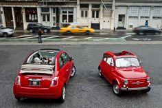 Fiat 500 Cabrio: new & old
