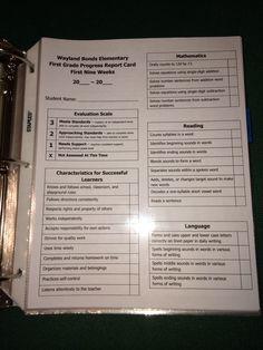 Mrs. Terhune's First Grade Site > Assessments ideas.