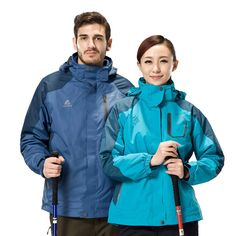 56.98$  Watch more here  - High Quality Winter Thermal Waterproof Windproof Climbing Power Sport Ski-Wear Men Women Couples Hiking Jacket Hiking Clothing