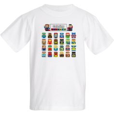 Pixel Art T-Shirt Coloring Squared $15