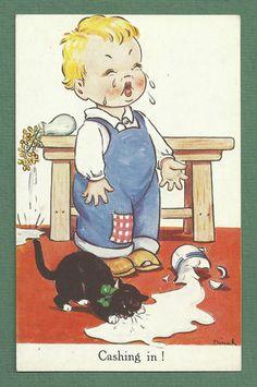 c.1940's Dinah  Card