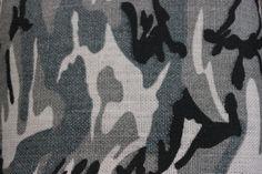 "60"" Camouflage - Winter White/Grey (20 Yard Burlap Bolt)"