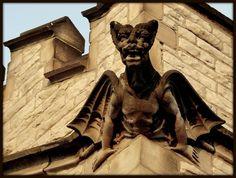 Gargoyle: Trinity Episcopal Church (Now Spirit of Hope Church)--Detroit MI   Flickr - Photo Sharing!