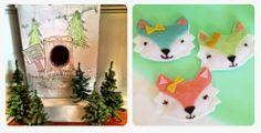 Fox Game  Wintery Woodland Fox Party: