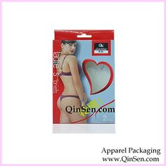 Custom Lingerie Box:Lingerie Box with PVC Heart Window, Foldable Paper Box Clothing Packaging, Sexy Bra, Bra Lingerie, Packaging Design, Custom Design, Underwear, Boxes, Window, Branding