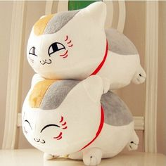"1pcs 8"" 20cm Natsume Yuujinchou Nyanko Sensei Plush Cat Anime Doll Toy Xmas Christmas Gift"