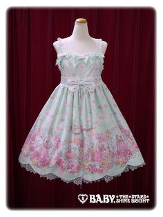 Baby, the stars shine bright Thumbelina~Maia's wonderful encounter story~jumper skirt Ⅱ