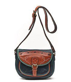 Patricia Nash Chios Saddle CrossBody Bag #Dillards