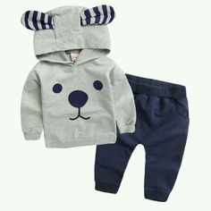 Online Shop 2016 new Boys clothing sets spring autumn Baby Sets cotton boy tracksuits Kids sport suits cartoon coats/sweatshirts+pants Baby Boy Suit, Baby Boy Dress, Baby Boys, Baby Boy Fashion, Kids Fashion, Fashion 2015, Fashion Clothes, Fashion Trends, Baby Outfits