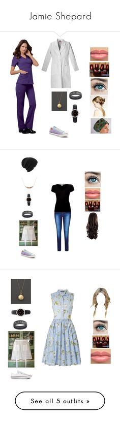 """Jamie Shepard"" by brelea-1 ❤ liked on Polyvore featuring Monica Rich Kosann, Converse, Timex, City Chic, James Perse, Coal, plus size clothing, French Connection, Balenciaga and WithChic"