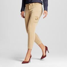 Women's Cargo Pants Tan S - Knox Rose
