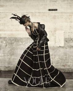 """Couture Grunge"" by Gu Bon-chang #fashion #photography"