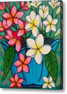 Frangipani Sawadee Acrylic Print By Lisa  Lorenz