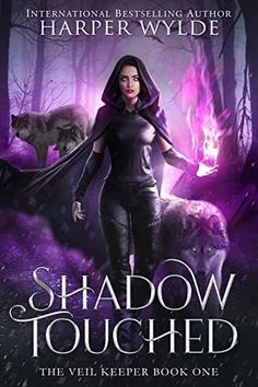 Shadow Touched (The Veil Keeper by Harper Wylde Fantasy Book Series, Fantasy Books To Read, Fantasy Book Covers, Best Books To Read, Good Books, Book Club Reads, Book Club Books, Book Lists, Book 1