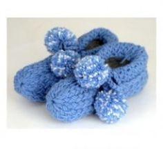 Loom knitting slipper patterns designed for the Knifty Knitter brand looms.