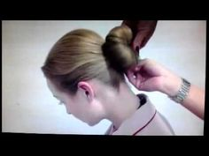 How to do the Emirates cabin crew bun hairstyle