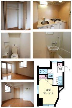 Tokyo Minato Apartment for Rent ¥87,000 @Azabujuban 3mins 20.33㎡ Please ask shion@jafnet.co.jp