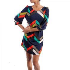 Color Me Chevron Dress