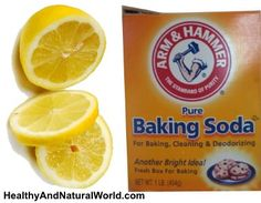 Lemon and Baking Soda - Powerful Healing Combination for Cancer~~~ Article makes sense and it's easy to incorporate. Glass of water with half a lemon squeezed in and 1/2tsp baking soda in between meals