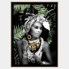 A goddess from the depths of the jungle. Framed Art, Framed Prints, Wall Art, Disney Characters, Fictional Characters, Wonder Woman, Princess Zelda, Superhero, Artwork