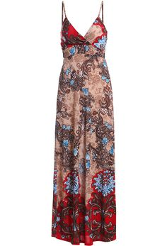 Shop Red Spaghetti Strap Floral Maxi Dress online. Sheinside offers Red Spaghetti Strap Floral Maxi Dress & more to fit your fashionable needs. Free Shipping Worldwide!