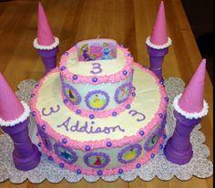 Addison's princess cake