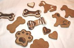 Dog Cookies | See our dog treat mix and dog icing mixes in action here!
