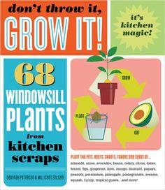 68 windowsill plants from kitchen scraps