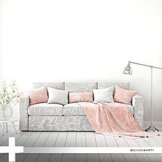 Dekorasyonunuzda açık renkleri kullanarak mevcut alanın daha geniş ve ferah görünmesini sağlayabilirsiniz. buyukarti.com.tr