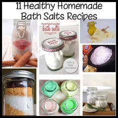 homemade bath salts recipes