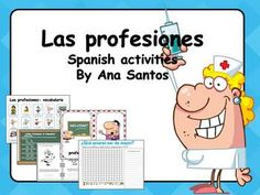 Las profesiones - Spanish activities