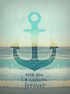 Anchor Love Quotes Amusing Anchor In My Soul Nautical Decor Love Marriage Inspiration Quote