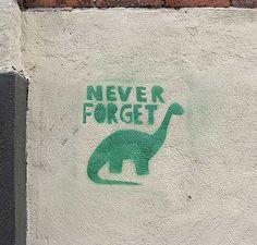 RIP dinosaurs, RIP.