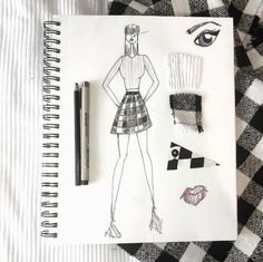 You could be our next month's winner! All you have to do to enter our monthly sketch contest is just use our hashtag #FIDMFCsketchcontest on Instagram for your chance to win a sketch pad and get featured on Fashionclub.com!
