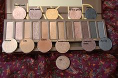 UD Naked....MAC dupes for the people who only like certain colors in this palette
