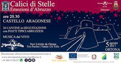 Il 5 Agosto torna Calici di Stelle in Abruzzo