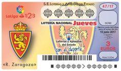 La suerte de la lotería se viste con el escudo del Real Zaragoza   Real Zaragoza Web Oficial