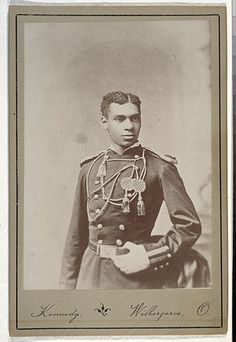 Henry Ossian Flipper was the first African-American to graduate from West Point (United State Military Academy).  He attended Atlanta University prior to his appointment