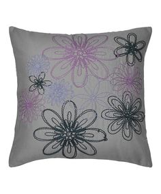 Take a look at this Vue Anastasia Embroidered Throw Pillow by Ellery Homestyles on #zulily today!32